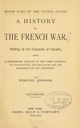 A History Of The French War, Ending In The Conquest Of Canada front-562832