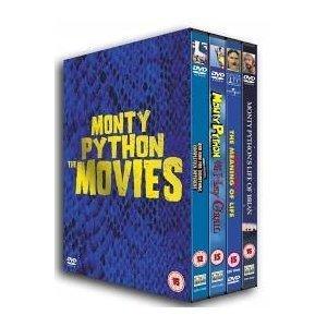 Monty Python: The Movies (4 Disc Box Set) [1979]