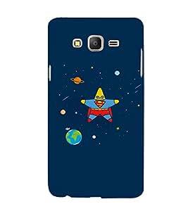 EPICCASE Space star Mobile Back Case Cover For Samsung Galaxy E7 (Designer Case)