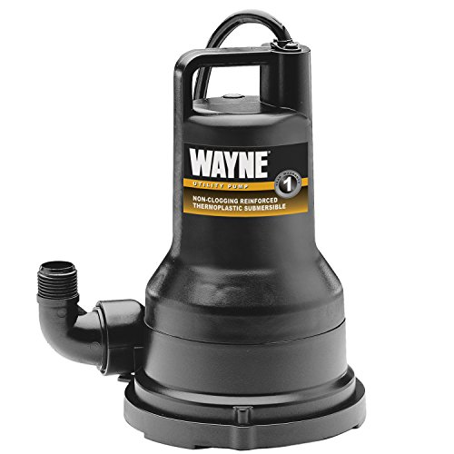 Wayne VIP50 1/2 HP Thermoplastic Portable Electric Water Removal Pump (Wayne Portable Pump compare prices)