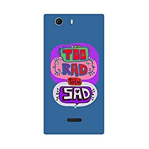 Skintice Designer Back Cover with direct 3D sublimation printing for Micromax Canvas Nitro 2 E311