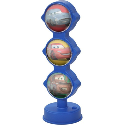 Kids Disney Cars Traffic Lamp, Features Disney Cars Design, On/Off Switch, Blue front-939514