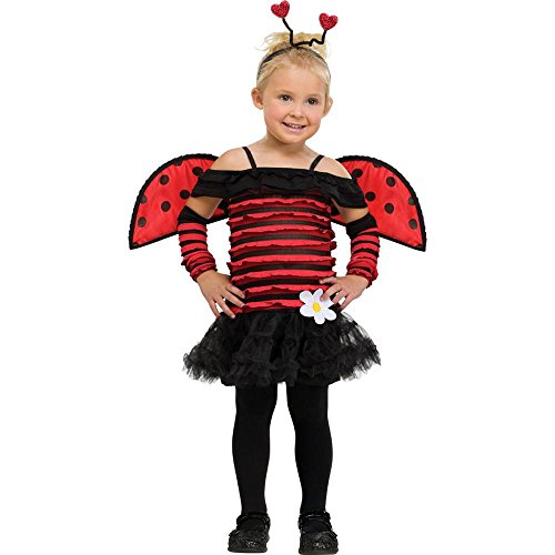 Fun World Costumes Baby Girl's Little Lady Bug Toddler Costume