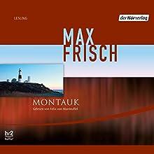 Montauk Hörbuch von Max Frisch Gesprochen von: Felix von Manteuffel