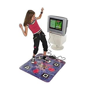 Amazon Com Bratz Stylin Dance Mat Fun On Tv Game Toys