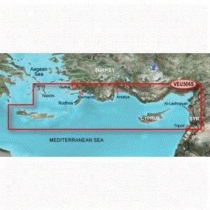 Garmin Crete To Cyprus - SD Card 010-C0850-00 crete top 10
