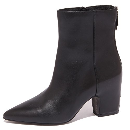 8755P tronchetto WHAT FOR nero stivaletto donna boot woman [37.5]