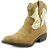 Madden Girl fressno Fabric Western Boots