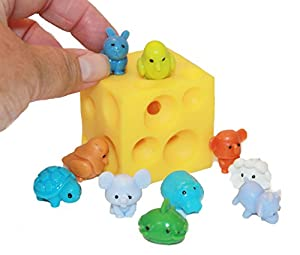 Stretchy Cheese Bundle with Squishy Animals by Multiple