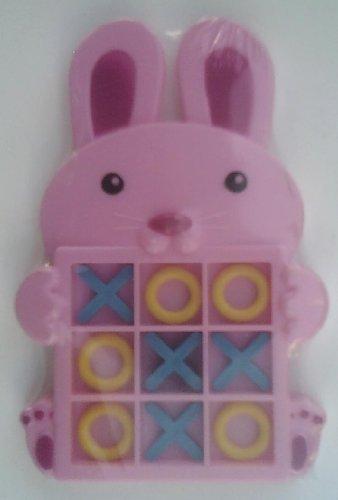 Pink Bunny Tic Tac Toe Game
