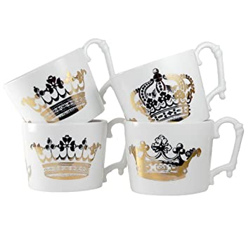 Kings Road Redux Set of Four Mugs