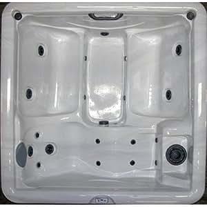 Home and Garden Spas 5-Person 19-Jet Hot Tub with 110V GFCI Plug, Mahogany
