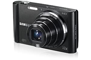 Samsung ST200F Long Zoom Smart Camera - Black (EC-ST200FBPBUS)