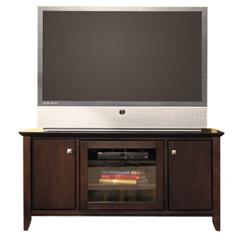 Cheap Bush Furniture Sonoma 50″ Wood Plasma,LCD TV Stand in Mocha Cherry (AZ23-9670)