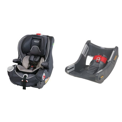 graco smartseat all in one car seat and smartseat all in one convertible car seat base baby. Black Bedroom Furniture Sets. Home Design Ideas