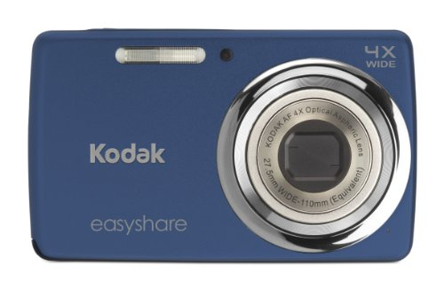 Kodak EasyShare M532 14 MP Digital Camera with 4x Optical Zoom and 2.7-Inch LCD - Blue (New Model)