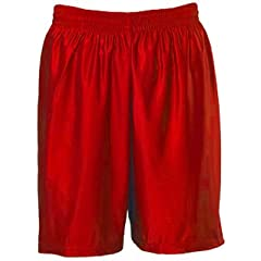 Teamwork Dazzle Cloth Basketball Shorts 2-SCARLET A3XL-9 INSEAM by Teamwork