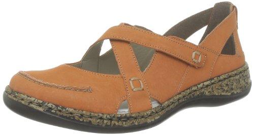 Rieker 46363-38 Ballet Flats Women Orange Orange (aperol 38) Size: 6 (39 EU)