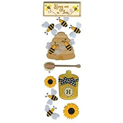 Martha Stewart Crafts Busy As A Bee Dimensional Stickers