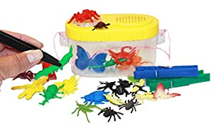 Fine Motor Bugs Bundle with Tweezers and Bug Box by Therapy Fun Zone