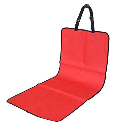 Couverture pour si ge de voiture 105 46cm rouge housse de for Housse protection siege voiture pour chien