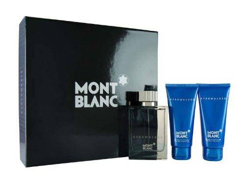 Montblanc Mont Blanc StarWalker Pour Homme for Men Gift Set Eau De Toilette 2.5 oz Spray + After Shave Balm 3.3 oz + Shower Gel 3.3 oz at Sears.com