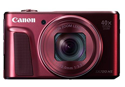 Canon デジタルカメラ PowerShot SX720 HS レッド 光...