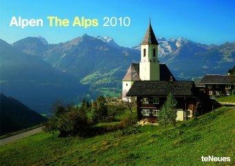 2010 the Alps A3 Calendar
