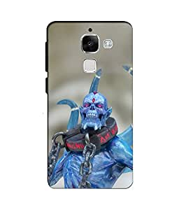 djimpex 3d DIGITAL PRINTED BACK COVER FOR LeEco (LeTV)2S