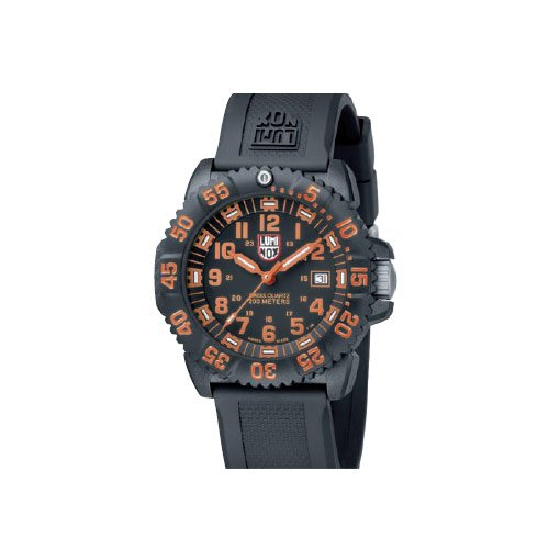 Luminox LU3059 Navy Seals 3050 Black/Orange Dial Men's Watch