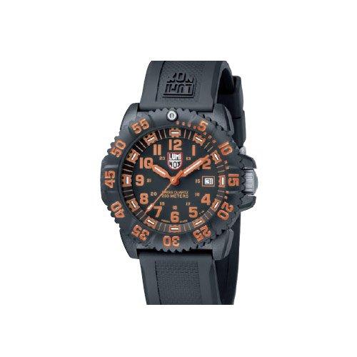 Luminox LU3059 Navy Seals 3050 Black/Orange Dial Men's Watch