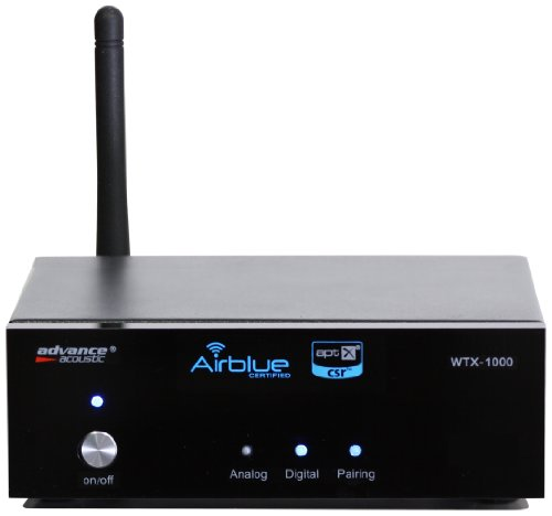 Advance Acoustic WTX 1000 blk Modulo Wireless, Bluetooth, Nero