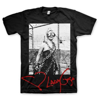 Lady Gaga - Cigarettes T-Shirt, LARGE
