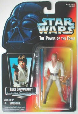 Luke Skywalker with Grappling-Hook Blaster and Lightsaber Action Figure