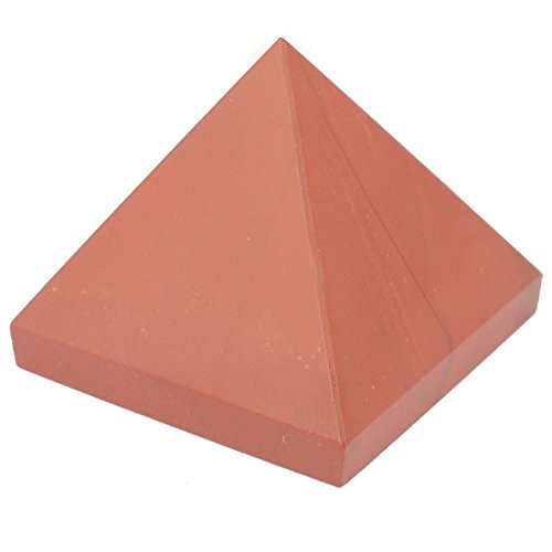 The Crystal Jewel Energized Red Jasper Pyramid - (25mm)