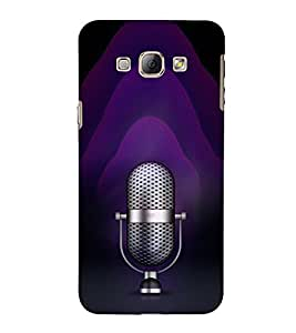 EPICCASE Black Music Mobile Back Case Cover For Samsung Galaxy A5 (Designer Case)