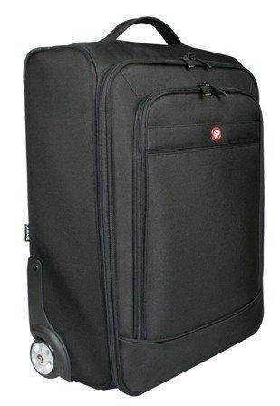 Port Manhattan Trolley 17 / 18 inch Overnight Roller Design 1680D Ballistic Nylon Storage and Laptop Bag Upto 18.4 inch - Black