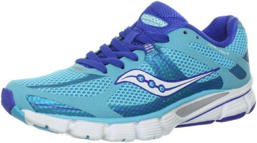 the best attitude 418ab d03f7 Saucony Women s Mirage 3 Running Shoe Blue White 6 5 M US
