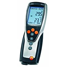 Testo 0563 6352 ABS Compact Pro High Precision Thermohygrometer with Memory and Software