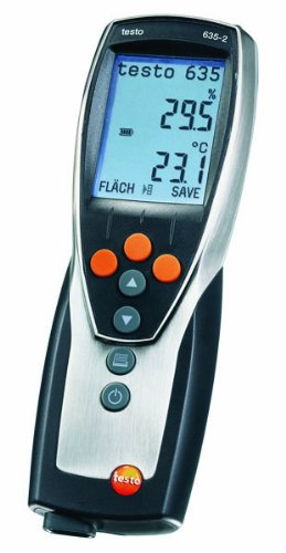 Testo 0563 6352 ABS Compact Pro High Precision Thermohygrometer with Memory and Software - 1