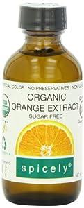 Spicely Organic Extract Orange - Bottle