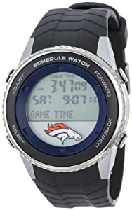 NFL Mens NFL-SW-DEN Schedule Series Denver Broncos Watch by Game Time