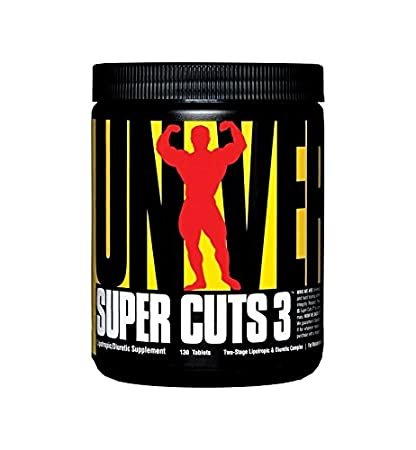 Universal Nutrition Super Cuts 3 Fatburner 130 CAPS