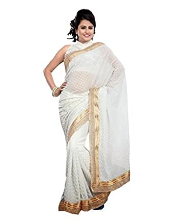Wedding Gifts For Bride Amazon India : ... Wedding Indian Bridal Traditional Saree at Amazon Women s Clothing
