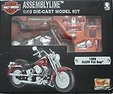1:10 Harley Davidson Motorcycle Kit - 1999 FLSTF Fat Boy