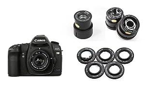 Complete Digital Holga Kit for Canon