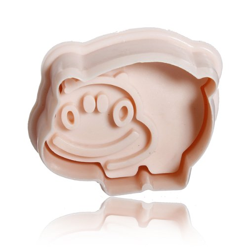 Stereo Diy Cartoon Hippo Shape Cookie Cake Mold front-535529