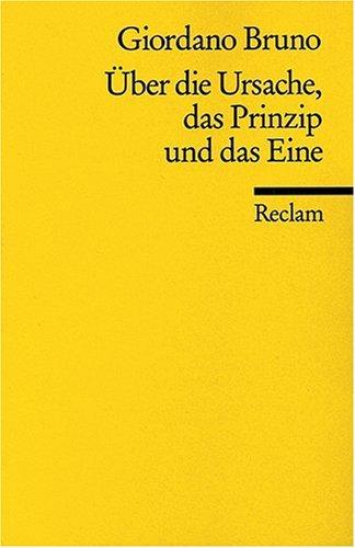 Universal-Bibliothek Nr. 5113(2): Über die Ursache, das Prinzip und das Eine