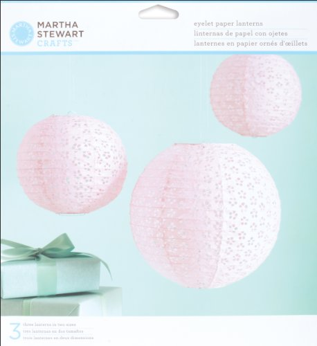Fantastic Deal! Martha Stewart Crafts Vintage Girl Eyelet Lanterns
