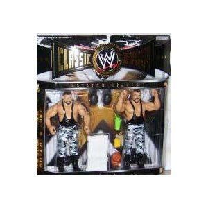 Buy Low Price Jakks Pacific WWE Classic Superstars 2 Pack of Figures THE BUSHWHACKERS BUTCH & LUKE (B000ACOR52)